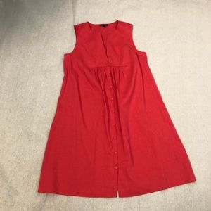 Eileen Fisher Coral Shift Dress